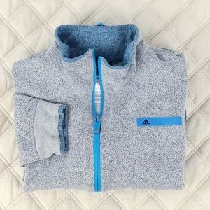 [Adidas] Jacket• Kids Size 10/12• Gray/Blue